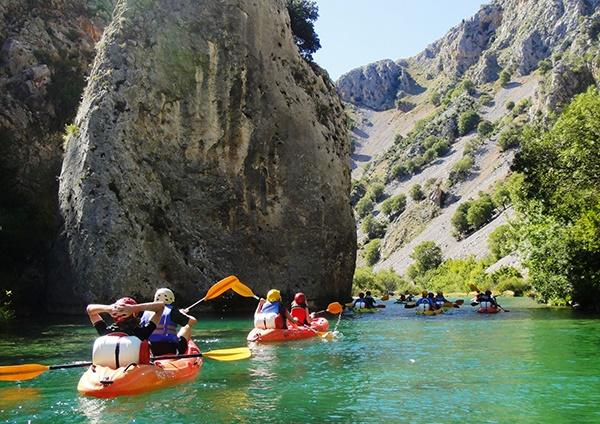 Canoeing zramanja
